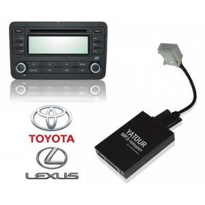 Авто MP3 проигрыватель Yatour-Russia для автомобилей Toyota/Lexus (ISO 6x6)