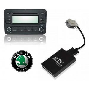 Авто MP3 проигрыватель Yatour-Russia для автомобилей Skoda (Quadlock)
