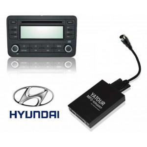 Авто MP3 проигрыватель Yatour-Russia для автомобилей Hyundai (ISO-13)