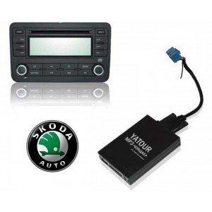 Авто MP3 проигрыватель Yatour-Russia для автомобилей Skoda (ISO-MINI-8)