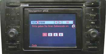 Audi Navigation Plus I