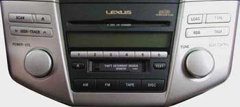 Lexus P6827 - RX330